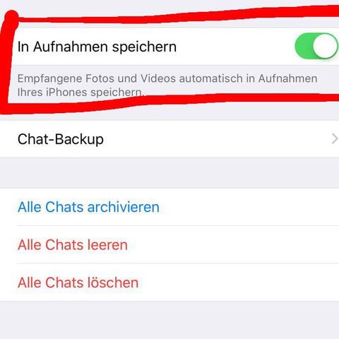 Whatsapp Fotos Auf Sd Karte Speichern.Whatsapp Fotos Werden Nicht In Galerie Gespeichert Iphone