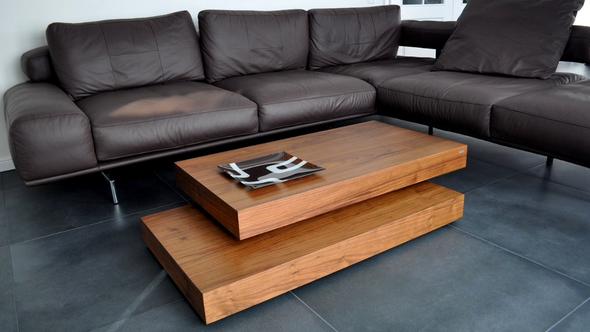 Couchtisch S-60 Nussbaum von Carl Svensson  - (Wohnung, wohnen, Design)