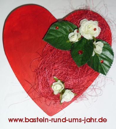 Geschenkverpackung Herz von www.basteln-rund-ums-jahr.de - (Geschenk, Mutter, kreativ)