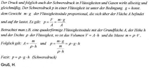 - (Physik, Wasser)