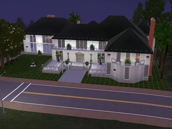 wie baue ich ein sch nes sims 3 haus sims3. Black Bedroom Furniture Sets. Home Design Ideas