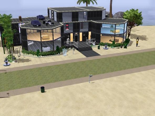 Wie baue ich ein sch nes sims 3 haus - Sims 4 dach bauen ...