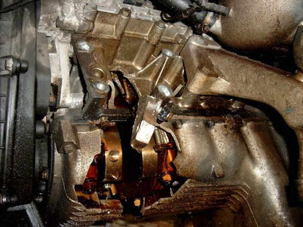 Pleulabriss  - (Auto, Motor, Audi)