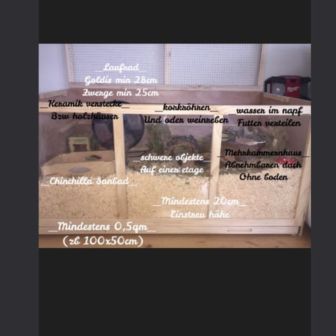 Wichtige Daten im allgemeinen - (Hamster, Laufrad)
