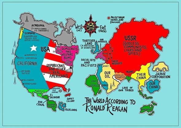Weltkarte der Ignoranten - (Erdkunde, Südamerika, gebirge)