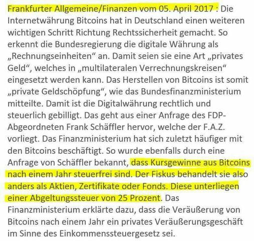 - (Steuern, Gewinn, bitcoin)
