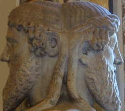 Janus  Gott der Türen und Tore - (Mythologie, titan, römische Mythologie)