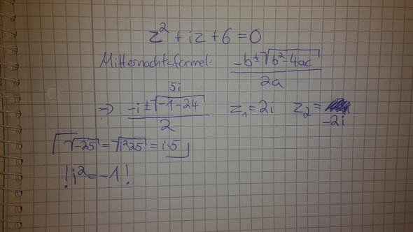 - (Mathe, Mathematik, komplexe zahlen)