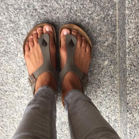 Flip Flops - (Socken, barfuß, Hausschuhe)