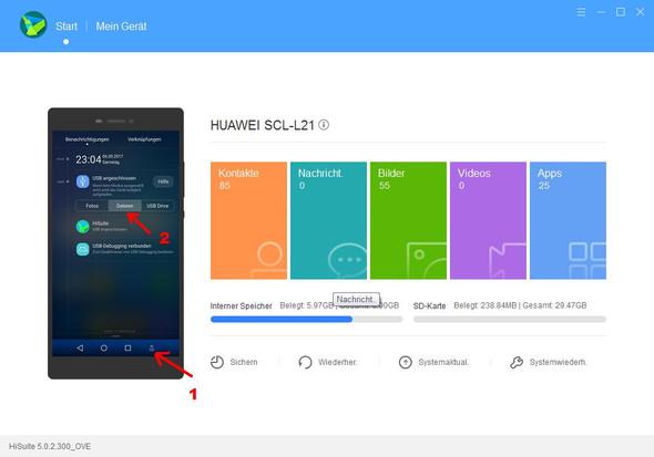 Huawei P9 Am Pc Auf Einmal Grundlos Ordner Leer Aber Dateien In