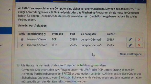 Trotz Portfreigabe Kann Ich Nicht Auf Meinem Minecraft Server Joinen - Minecraft uber router spielen
