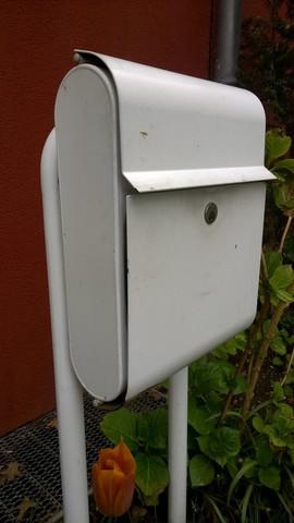Besonderes dickes Metall / schwere Qualität - (Hausbau, Hersteller, briefkasten)