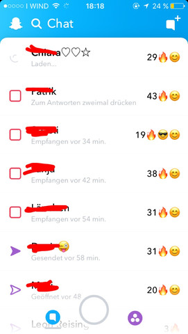 Snapchat-Hilfe