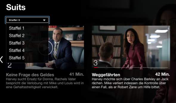 Suits Staffel 5 Weg Netflix Film
