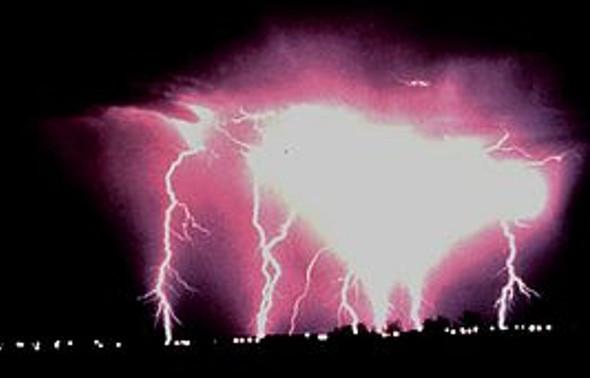 Flächenblitz - (Blitz, Gewitter)