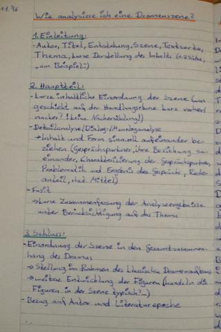 Wie Eine Dramenszene Interpretieren Deutsch Interpretation Aufsatz