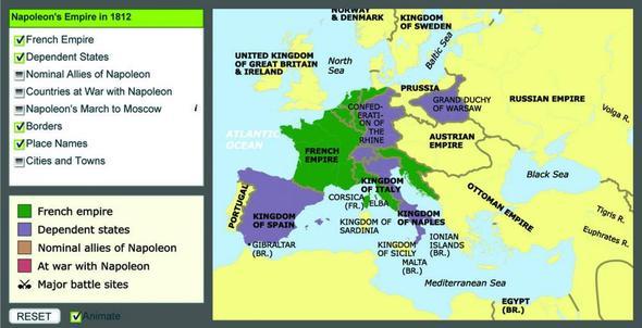 Napoleons Bündnispartner_Russlandfeldzug 1812 - (Geschichte, Napoleon, verbuendete)