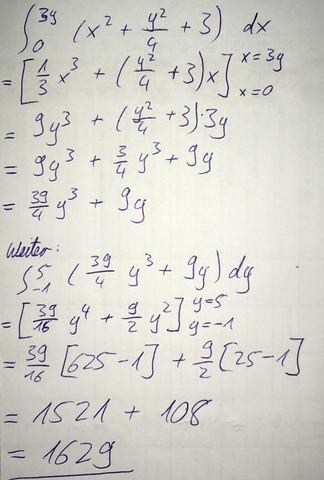 Bla - (Mathematik, integralrechnung)