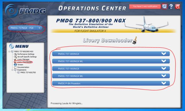 PMDG 737 Operations Center - (Computer, PC, Flugzeug)