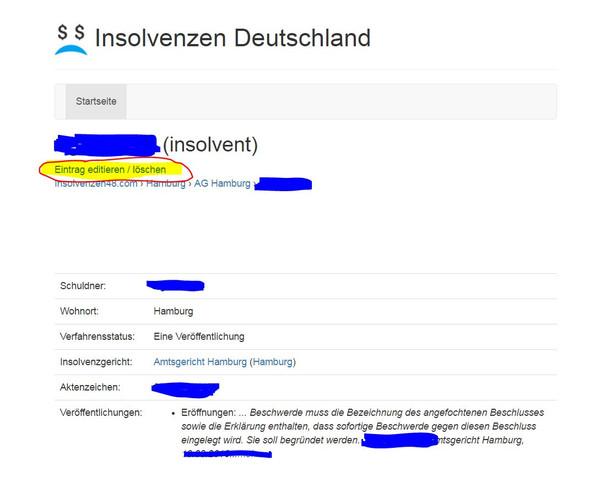 Insolvenzen-Deutschland.Com