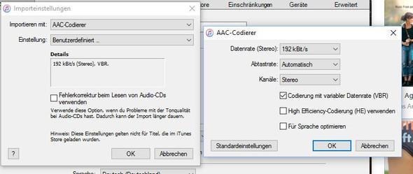 iTunes AAC - (AAC, encoder, m4a)