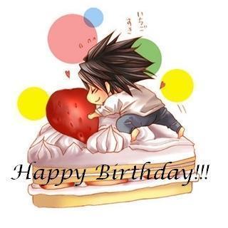 Anime Geburtstag