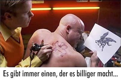 billig tattoo - (Haut, Tattoo)