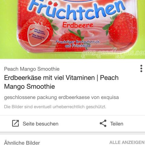 Lecka erbeerkase  - (Nahrungsmittel, Käse, Erdbeeren)