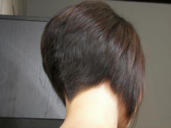Frisuren nacken angeschnitten