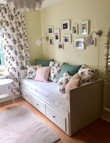 Weiße Möbel Im Zimmer Und Eine Beige Wand Mädchen Farbe