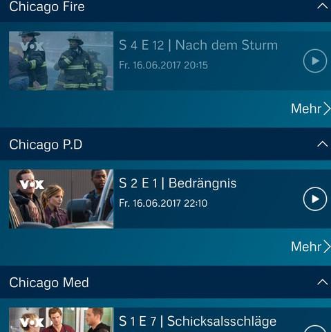 Die Serien und die Folgen dazu  - (Fernsehen, Serie, RTL)