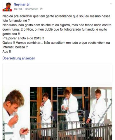 - (rauchen, Raucher, Neymar)
