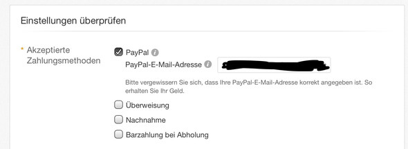- (PayPal, Zahlung)