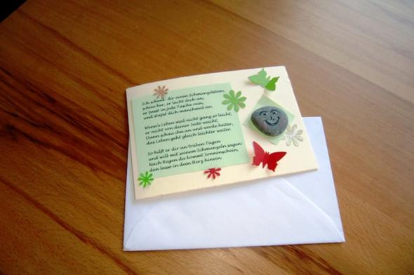 Schmunzelstein Karten - (Buch, Geschenk, basteln)