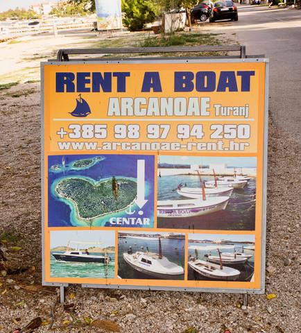 Bootvermietung in Turanj - (Führerschein, Boot, Kroatien)