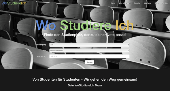 - (Studium, Ausbildung und Studium, NC)