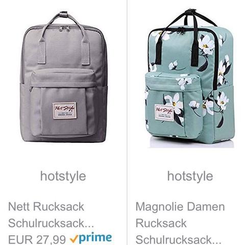 welchen rucksack für die schule benutzen? (mädchen