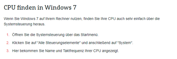 CPU Finden - (Computer, cpu)