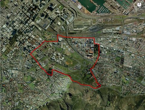 Distrik 6 - (Schule, Referat, Südafrika)
