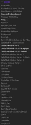 - (Spiele, Steam, löschen)