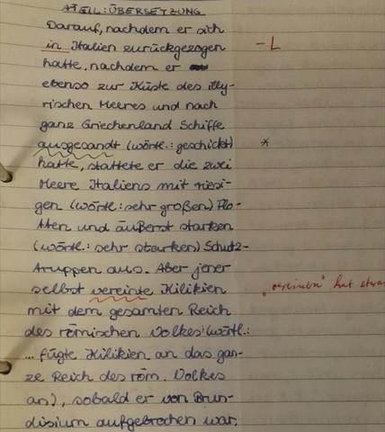 10. Klasse - (Schule, Sprache, lernen)