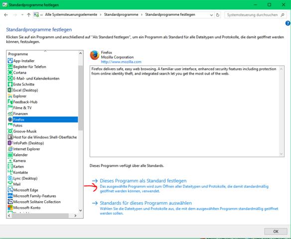 Standardprogramme festlegen - (Handy, Smartphone, Windows 10)