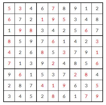 Lösung in schwarz - (Internet, Bilder, Zahlen)