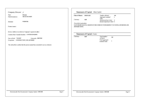 Unternehmensregister Erstanmeldung - (Freizeit, Hobby, Abo)