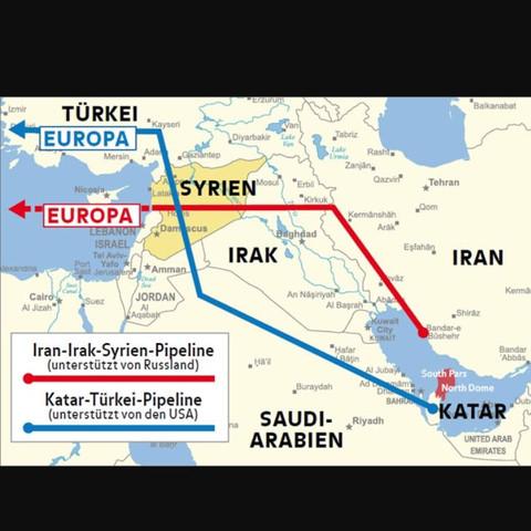 Pipelines Syrien - (Politik, Bildung, syrien)