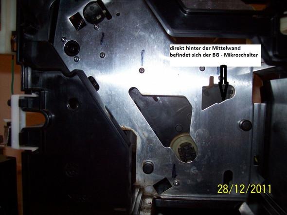 BE Mikroschalter  - (Auto und Motorrad, Kaffeevollautomat, Siemens S20)