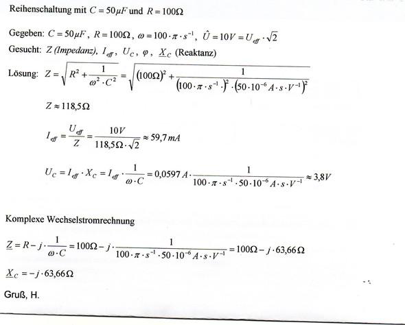 - (Mathematik, Elektrotechnik)