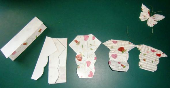 Schmetterlinge Anleitung - (Mutter, basteln, Geburtstagsgeschenk)