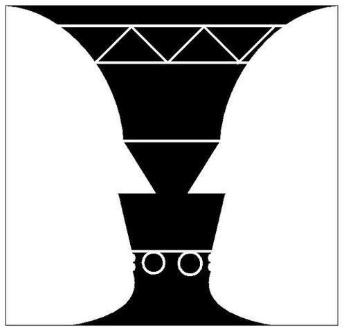 Vexierbild Vase - (Geschichte, Referat, Kunst)