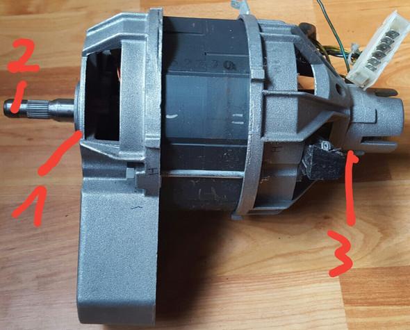 Bild 3 - (Haushalt, Waschmaschine, Waschmaschinenmotor)